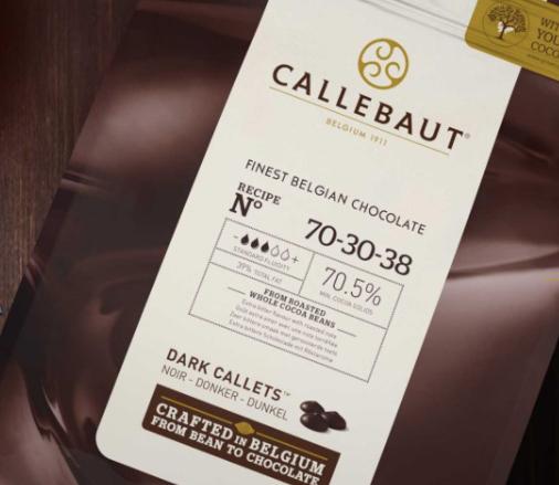 Callebaut callets chocolade Willy Vanilli